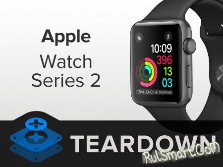 Разборка Apple Watch Series 2 — новые умные часы