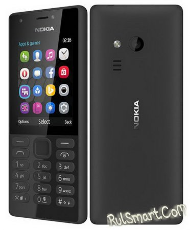 Nokia 216 и Nokia 216 Dual — кнопочные телефоны от Microsoft