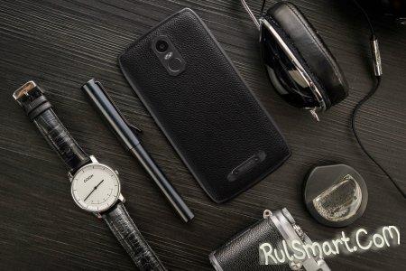 Uhans U300 — кожаный смартфон с 4 ГБ ОЗУ и аккумулятором на 5000+ мАч