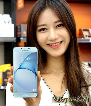 Samsung Galaxy A8 (2016) — новый фаблет из металла с Always On-экраном