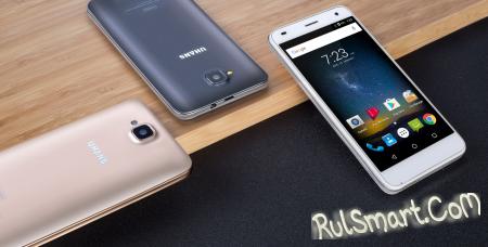UHANS H5000 — бюджетный смартфон с аккумулятором на 5000 мА/ч