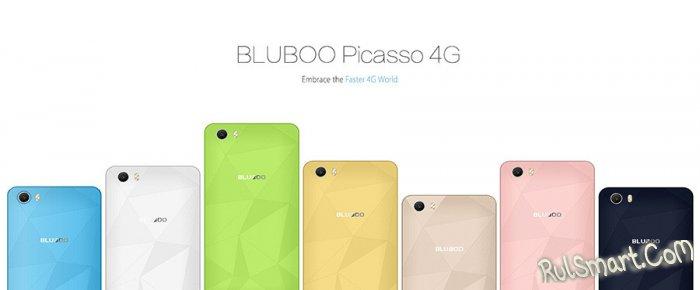 Bluboo Picasso 4G – новый бюджетный смартфон с NFC