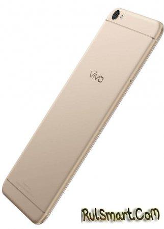 Vivo V5 — фаблет с 20-Мп фронтальной камерой
