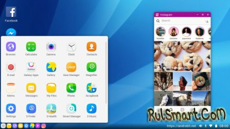 Samsung Desktop Experience для Galaxy S8 — аналог Microsoft Continuum