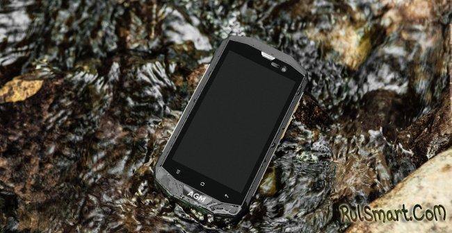 AGM A8: бюджетный защищенный смартфон на Android 7.1