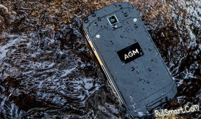 Как работает Android 7.0 на защищенном смартфоне AGM A8