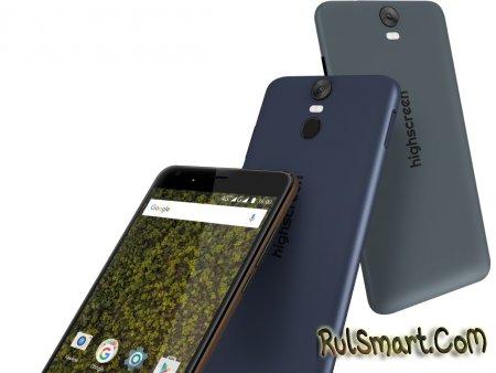 Highscreen Easy XL / XL Pro — новые бюджетные смартфоны