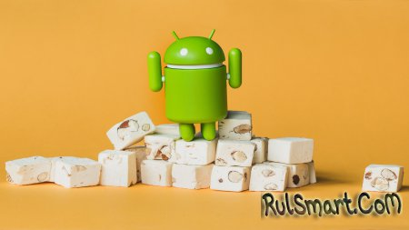 Android 7.0 и 7.1 Nougat установлена на 1,2% устройств