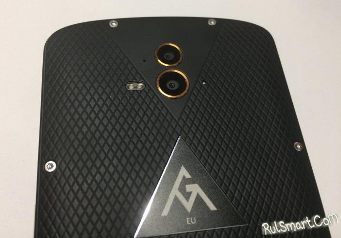 Обзор AGM X1 — лучший защищенный смартфон с двойной камерой
