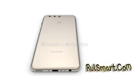 Huawei P10: первые рендеры смартфона и видео