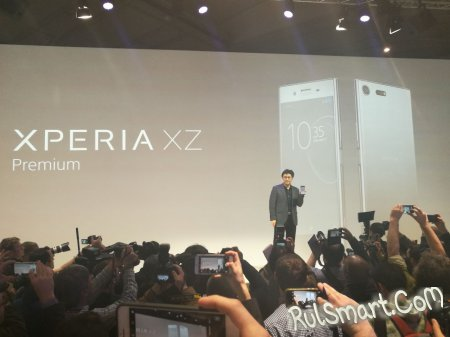 Sony Xperia XZ Premium — первый смартфон со Snapdragon 835