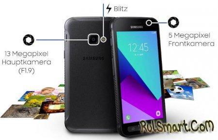 Samsung Galaxy Xcover 4: новый защищенный смартфон на Android 7.0
