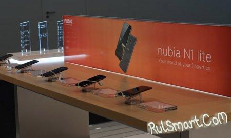 ZTE nubia N1 lite — новый бюджетный смартфон на Android 6.0