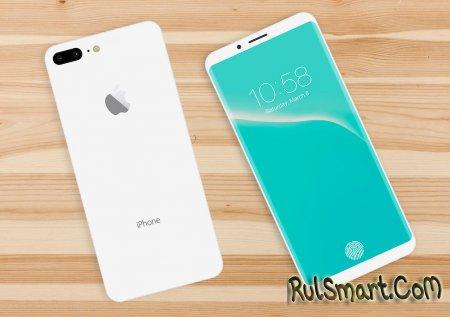 iPhone 8: безрамочный экран, двойная камера, без кнопки Home