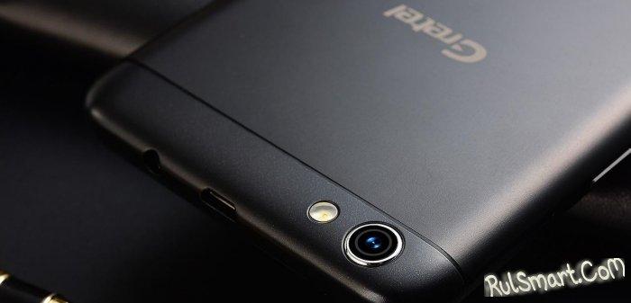 Gretel A9: бюджетный смартфон со сканером отпечатков и 13 МП камерой