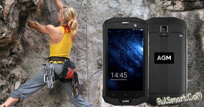 AGM A8: доступный защищенный смартфон пережил игру в бейсбол