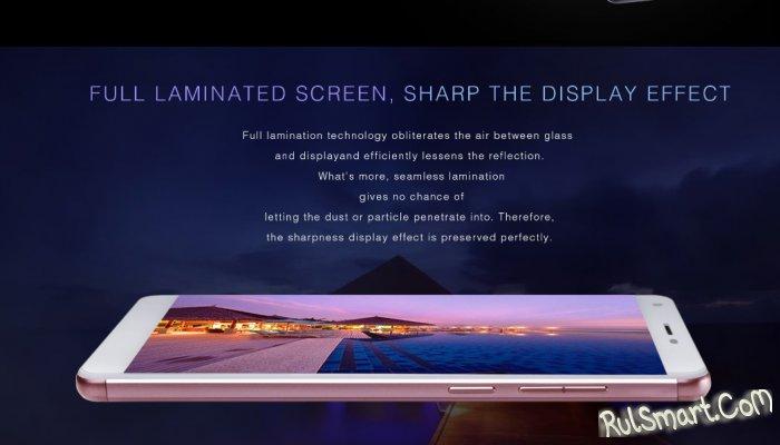 UHANS S3: очень дешевый смартфон со сканером отпечатков и 3G