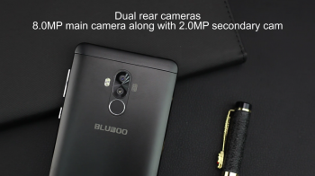 Распаковка бюджетного смартфона BLUBOO D1 с двойной камерой