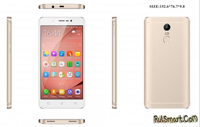 UHANS S6 — новый бюджетный смартфон на Android 7.0 Nougat