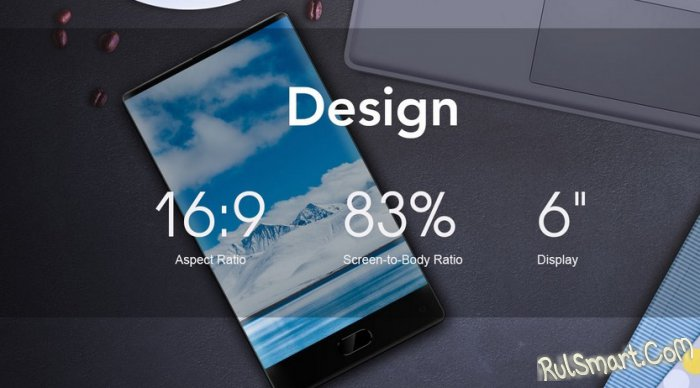 Maze Alpha: когда выйдет, цена и характеристики безрамочного смартфона