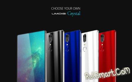UMIDIGI Crystal Plus получит Snapdragon 835 и 6 ГБ оперативки