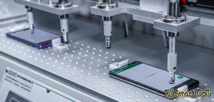 Как тестируют безрамочный смартфон Doogee Mix на заводе (видео)