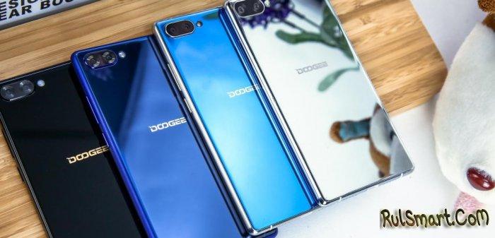 DOOGEE MIX: первые фотографии безрамочного смартфона в новых цветах