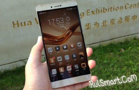 Huawei Honor Note 9 — новый безрамочный фаблет семейства Honor