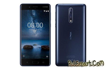 Nokia 8 с оптикой Zeiss и чипсетом Snapdragon 835 (рендер смартфона)