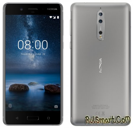 Nokia 8 — первый впечатляющий флагманский смартфон на Android