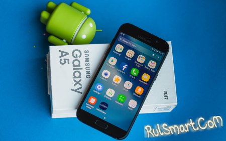 Samsung Galaxy A5 (2017) обновляется на Android 7.0 Nougat в России