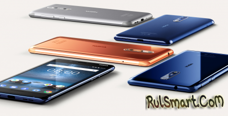 Nokia 8: официальный анонс флагманского смартфона на Android 7.1.1