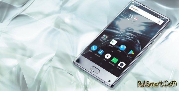 DOOGEE MIX: безрамочный смартфон вышел в серебристом цвете