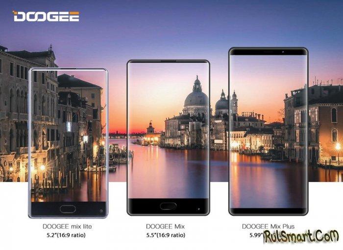 DOOGEE MIX 2: крутой безрамочный смартфон с AMOLED и 18:9
