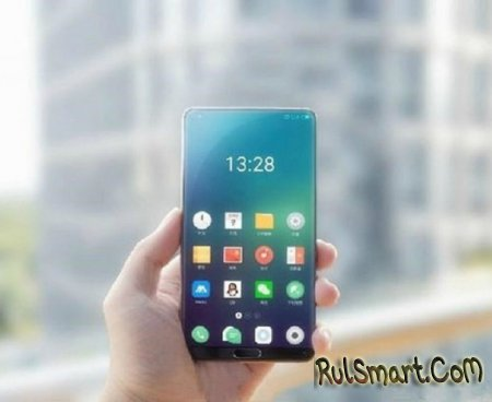 Безрамочный смартфон Meizu выйдет в 2018 году под брендом Blue Charm