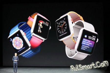 Apple Watch Series 3 — умные часы с поддержкой LTE и Apple Music