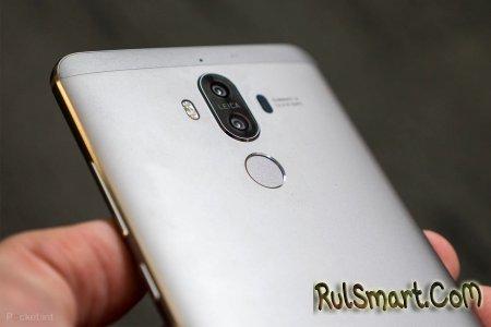 Huawei G10 — флагманский безрамочный смартфон с четырьмя камерами