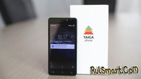 TaigaPhone: фото и характеристики антишпионского смартфона из России