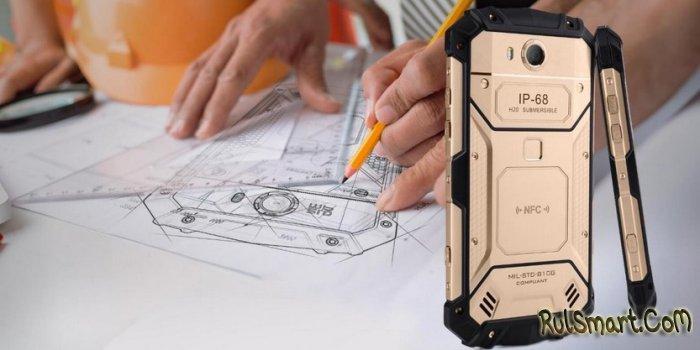 Aermoo M1: новый защищенный смартфон со Snapdragon 660 и 6 ГБ ОЗУ