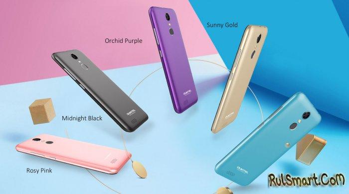 OUKITEL C8: 8 фишек безрамочного смартфона и полные характеристики