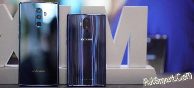 Смартфоны DOOGEE MIX и MIX 2 поддерживают 4G без SIM-карты