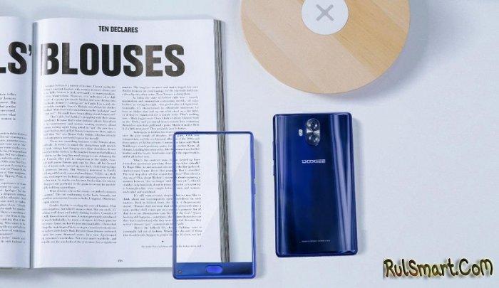 DOOGEE MIX lite — дешевый безрамочный смартфон за $89,99