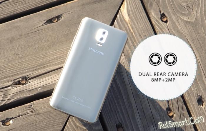 M-HORSE Power 2 — самый дешевый смартфон с мощным аккумулятором 6000 мА/ч