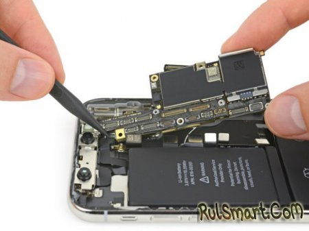 iPhone X: тест на ремонтопригодность смартфона от iFixit