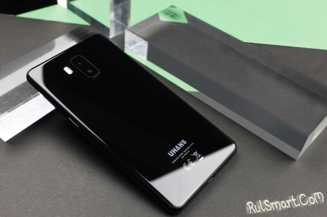Безрамочный смартфон UHANS MX временно подешевел до $69.99