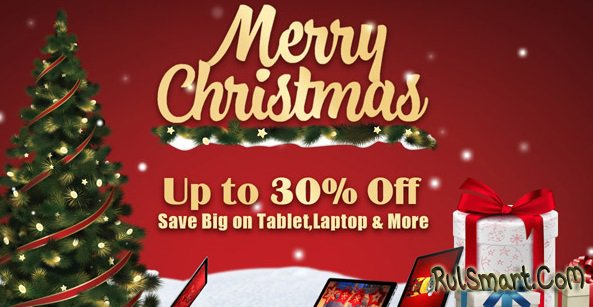 Рождественская распродажа планшетов Chuwi с большими скидками на AliExpress