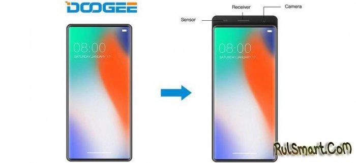 Безрамочный слайдер DOOGEE: необычный смартфон из Китая (видео)