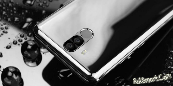 OUKITEL K6: смартфон с мощным аккумулятором, 6 ГБ ОЗУ и Helio P23 (видео)