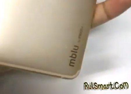 Безрамочный Meizu M6S с логотипом mblu показали на видео