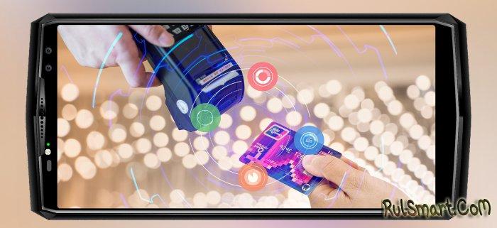 OUKITEL K10: Face ID, сканер отпечатков, NFC и аккумулятор на 11 000 мА/ч